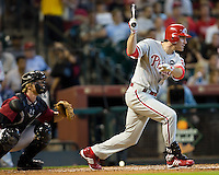 Utley, Chase 5641.jpg Philadelphia Phillies at Houston Astros. Major League Baseball. September 6th, 2009 at Minute Maid Park in Houston, Texas. Photo by Andrew Woolley.