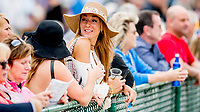 OLDSMAR, FL - MARCH 10:  Fans enjoy the racing on the apron on Tampa Derby Day at Tampa Bay Downs on March 10, 2018 in Oldsmar, FL. (Photo by Scott Serio/Eclipse Sportswire/Getty Images)