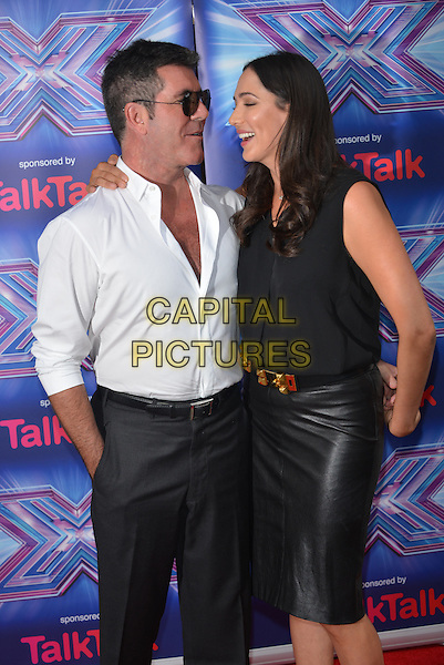 LONDON, ENGLAND - AUGUST 27:  Simon Cowell; Lauren Silverman attend the press launch for the new series of 'The X Factor' at Ham Yard Hotel on August 27, 2014 in London, England. <br /> CAP/PL<br /> &copy;Phil Loftus/Capital Pictures