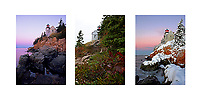 Bass Harbor Light Collage