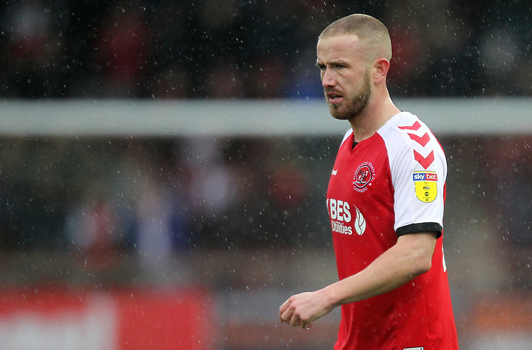 Fleetwood Town's Paddy Madden <br /> <br /> Photographer Mick Walker/CameraSport<br /> <br /> The EFL Sky Bet League One - Fleetwood Town v Scunthorpe United - Saturday 26th January 2019 - Highbury Stadium - Fleetwood<br /> <br /> World Copyright © 2019 CameraSport. All rights reserved. 43 Linden Ave. Countesthorpe. Leicester. England. LE8 5PG - Tel: +44 (0) 116 277 4147 - admin@camerasport.com - www.camerasport.com