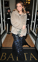 Kelly Eastwood at the Services To Film inaugural gala dinner in aid of Walking With The Wounded charity, BAFTA, Piccadilly, London, England, UK, on Tuesday 06 February 2018.<br /> CAP/CAN<br /> &copy;CAN/Capital Pictures