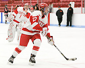 Tara Watchorn (BU - 27) - The Boston University Terriers defeated the visiting Northeastern University Huskies 3-0 on Tuesday, December 7, 2010, at Walter Brown Arena in Boston, Massachusetts.