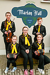 Scor ns bPaisti Chiarrai Thuaidh: Taking part in the Scor ns bPaisti Chiarrai Thuaidh held in the Marian Hall, Moyvane on Sunday last were the Asdee Ceol  Uirlise group of Caoimhe Moloney, Molly O'Sullivan, Leoans Sheehan, elaine Keane & Hamish O'Carroll.