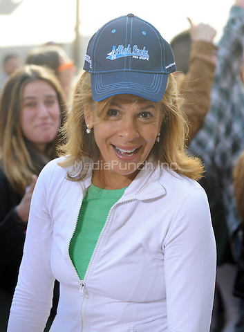 New York,NY-May 30: Hoda Kotb attends the Rascal Flatts concert on The Today Show  in New York City on May 30, 2014. Credit: John Palmer/MediaPunch