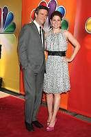 Jack Davenport and Debra Messing at NBC's Upfront Presentation at Radio City Music Hall on May 14, 2012 in New York City. © RW/MediaPunch Inc.