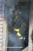 63818-02412 Firefighter at structure fire, Effingham Co., IL