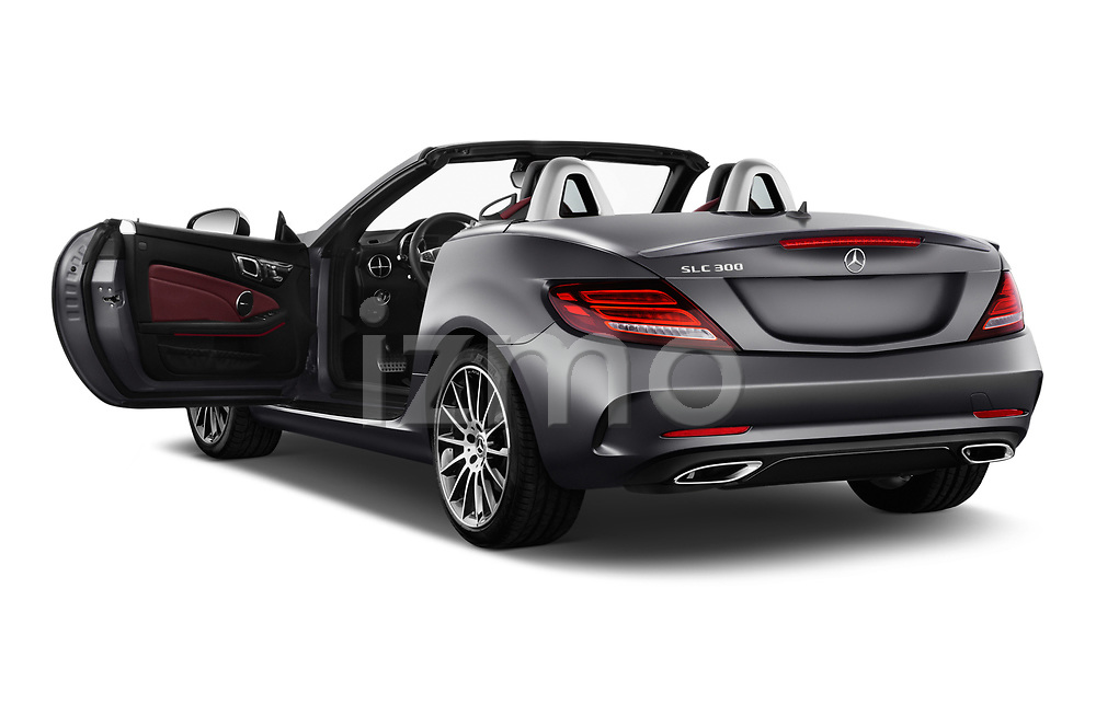 Car images close up view of a 2019 Mercedes Benz SLC Roadster SLC300 2 Door Convertible doors