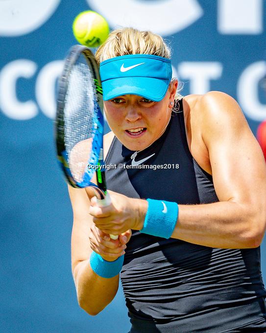 Den Bosch, Netherlands, 11 June, 2018, Tennis, Libema Open, Carina Witthoef (GER)<br /> Photo: Henk Koster/tennisimages.com