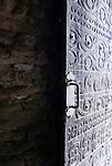 Door, Tumacacori mission, Tumacacori National Historical Park