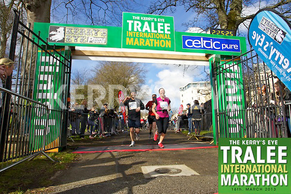 1310 David Kavanagh1506 Niamh Ni Eidhinwho took part in the Kerry's Eye, Tralee International Marathon on Saturday March 16th 2013.