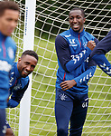 17.07.2019: Rangers training: Glen Kamara and Jermain Defoe