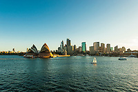 Sydney Opera House, Circular Quay and the Central Business District, Sydney, New South Wales, Australia