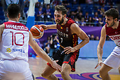 5th September 2017, Fenerbahce Arena, Istanbul, Turkey; FIBA Eurobasket Group D; Turkey versus Belgium; Power Forward Axel Hervelle #7 of Belgium in action during the match