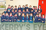 Junior infants at Listowel Presentation Primary School on Monday...   Copyright Kerry's Eye 2008