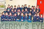 Junior infants at Listowel Presentation Primary School on Monday...   Copyright Kerry's Eye 2008