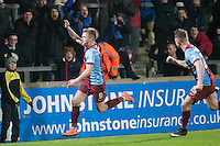 Paddy Madden of Scunthorpe U celebration of the 2nd goal<br />  - Scunthorpe United vs Rochdale - Sky Bet League One Football at Glanford Park, Scunthorpe, Lincolnshire - 26/12/14 - MANDATORY CREDIT: Mark Hodsman/TGSPHOTO - Self billing applies where appropriate - contact@tgsphoto.co.uk - NO UNPAID USE