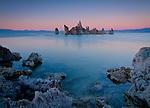 California, Lee Vining, Mono Lake. The Tufas of Mono Lake.