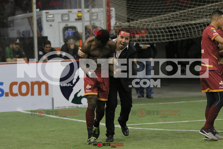 Soles vs Stockton durante las accioes de la Major Arena Soccer League. MASL2017<br />