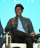 """PASADENA, CA - JANUARY 31: Don Cheadle of """"Black Monday"""" attends the Showtime portion of the 2019 Television Critics Association Winter Press Tour at the Langham Huntington on January 31, 2019, in Pasadena, California. (Photo by Frank Micelotta/PictureGroup)"""