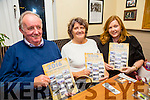 At the launch of the Spa/Fenit Hospice Calendar 2016 'Nostalgic Memories'. in Aid of the Palliative Care Unit KGH and the Irish Cancer Society at the West End, Fenit on Sunday were l-r  Sean Ryan, Mary Ryan and Emma Ryan
