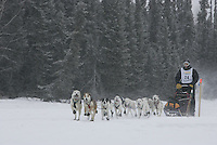 2006 Jr Iditarod race Willow Lake  Garry McKeller