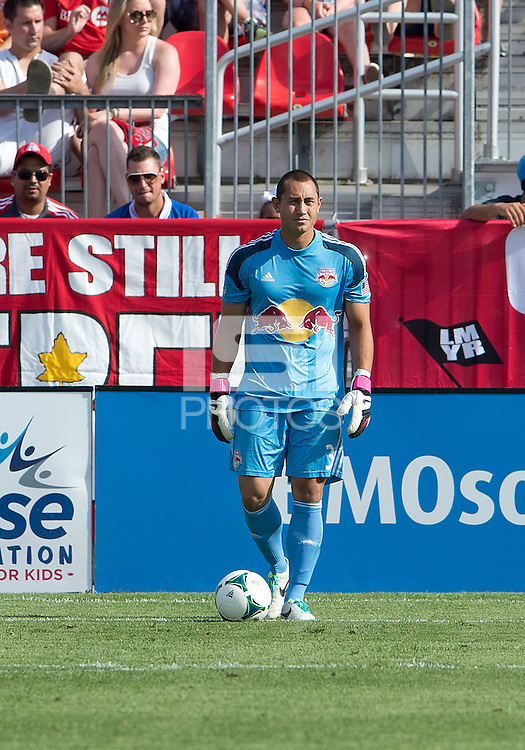 July 20, 2013: New York Red Bulls goalkeeper Luis Robles #31in action during a game between Toronto FC and the New York Red Bulls at BMO Field in Toronto, Ontario Canada.<br /> The game ended in a 0-0 draw.