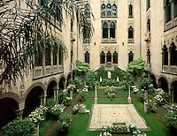 Isabella Stuart Gardner Museum courtyard, Boston, MA EB-054