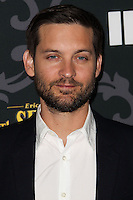 "LOS ANGELES, CA - JANUARY 07: Tobey Maguire arriving at the Los Angeles Screening Of IFC's ""The Spoils Of Babylon"" held at the Directors Guild Of America on January 7, 2014 in Los Angeles, California. (Photo by Xavier Collin/Celebrity Monitor)"