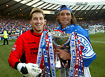 Stefan Klos and Lorenzo Amoruso, League Cup Final 2003
