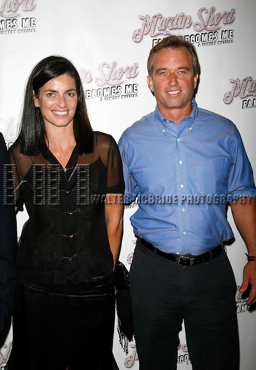 Robert F. Kennedy Jr. & Mary Richardson Kennedy.Attending the Opening Night of MARTIN SHORT - FAME BECOMES ME - A COMEDY MUSICAL at The Bernard B. Jacobs Theatre in New York City..August 17, 2006.
