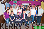 Breda O'Sullivan, Iveragh Park, Killorgli, seated centre,  pictured with family and friends as she celebrated her 40th birthday in The Fishery, Killorglin, on Saturday night.