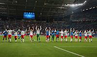 team Leipzig celebrates after the match<br /> Football / UEFA CL  Champions League  /  2017/2018 / 17.10.2017 /  RB Leipzig RBL vs. FC Porto *** Local Caption *** © pixathlon<br /> Contact: +49-40-22 63 02 60 , info@pixathlon.de