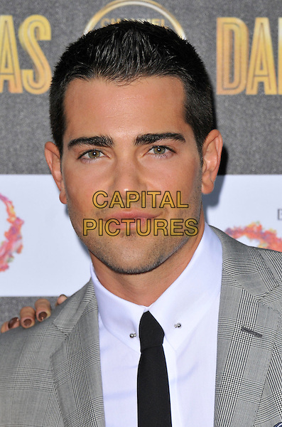 Jesse Metcalfe.The Channel 5 Launch Party for the new series of 'Dallas', Old Billingsgate Market, London, England..21st August 2012.headshot portrait black tie suit white shirt grey gray .CAP/WIZ.© Wizard/Capital Pictures.