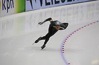SCHAATSEN: HEERENVEEN: Thialf, Essent ISU World Cup, 02-03-2012, 1500m, Shani Davis (USA) wins in 1,46,89, ©foto: Martin de Jong