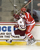 Brian Gibbons (BC - 17), Alex Chiasson (BU - 9) - The Boston College Eagles defeated the visiting Boston University Terriers 5-2 on Saturday, December 4, 2010, at Conte Forum in Chestnut Hill, Massachusetts.