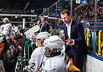 Stockholm 2014-01-18 Ishockey SHL AIK - F&auml;rjestads BK :  <br /> F&auml;rjestad assisterande tr&auml;nare Radek Hamr i aktion <br /> (Foto: Kenta J&ouml;nsson) Nyckelord:  portr&auml;tt portrait