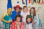 First years winners of the ''Dress up in Character Day'' as part of Love Literature Week at Presentation Secondary School, Tralee. Pictured front row, from left: Miriam Dowling, Marie Daly. Back row: Leona Stack, Emma McCarthy, Emma Campbell and Niamh O'Shea.