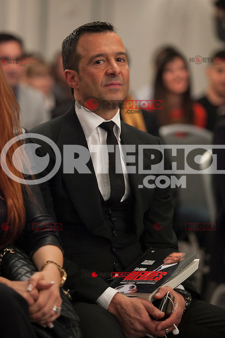 Jorge Mendes during his book presentation in Madrid, Spain. January 22, 2015. (ALTERPHOTOS/Victor Blanco) /NortePhoto<br /> NortePhoto.com