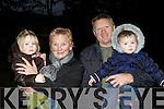 Grace, Maureen, Andrew and Clara Hourigan at the St Bridgid's celebration in Muckross House Killarney on Sunday..