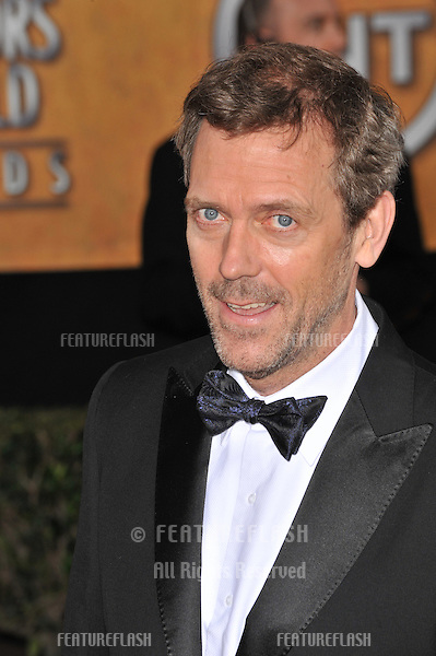 Hugh Laurie at the 15th Annual Screen Actors Guild Awards at the Shrine Auditorium, Los Angeles..January 25, 2009 Los Angeles, CA.Picture: Paul Smith / Featureflash