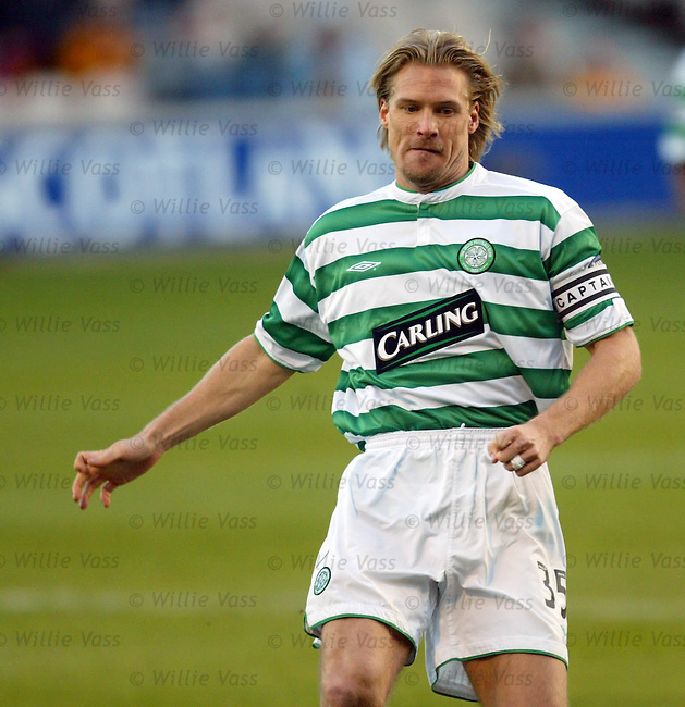 Johan Mjallby, Celtic.pic willie vass