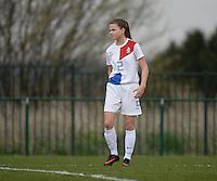 Women U15 : Belgian Red Flames - Nederland :<br /> <br /> Kayleigh van Dooren<br /> <br /> foto Dirk Vuylsteke / Nikonpro.be