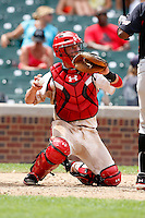 August 8, 2009:  Catcher Jacob Felts (20) of Team One during the Under Armour All-America event at Wrigley Field in Chicago, IL.  Photo By Mike Janes/Four Seam Images