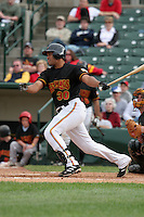 Rochester Red Wings Kevin West during an International League game at Frontier Field on June 4, 2006 in Rochester, New York.  (Mike Janes/Four Seam Images)