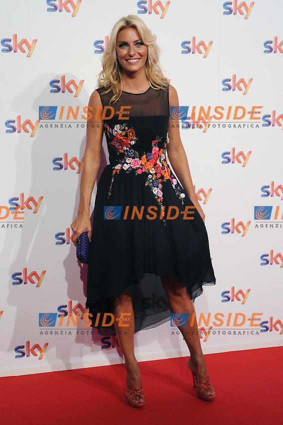 Federica Fontana <br /> Milano 10/09/2014 Sky Tv / Fox Italy - 2014/2015 season presentation  <br /> foto Andrea Ninni/Image/Insidefoto