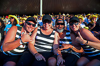 Fans on day one the 2019 HSBC World Sevens Series Hamilton  at FMG Stadium in Hamilton, New Zealand on Saturday, 26 January 2019. Photo: Dave Lintott / lintottphoto.co.nz
