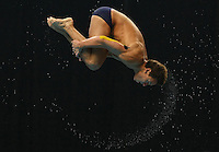 PICTURE BY VAUGHN RIDLEY/SWPIX.COM - Diving - XIX Commonwealth Games - Dr. S.P. Mukherjee Swimming Stadium, New Dehli, India - 13/10/10...Copyright - Simon Wilkinson - 07811267706...England's Tom Daley competes in the Men's 10m Prelim.