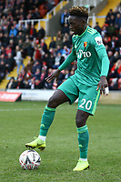 Domingos Quina of Watford during Woking vs Watford, Emirates FA Cup Football at The Laithwaite Community Stadium on 6th January 2019