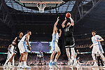 GLENDALE, AZ - APRIL 03: Przemek Karnowski #24 of the Gonzaga Bulldogs shoots the ball during the 2017 NCAA Men's Final Four National Championship game against the North Carolina Tar Heels at University of Phoenix Stadium on April 3, 2017 in Glendale, Arizona.  (Photo by Chris Steppig/NCAA Photos via Getty Images)